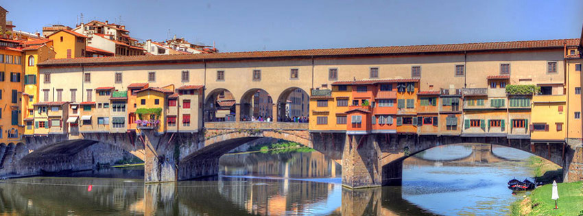 Yer: Ponte Vecchio, Fotoğraf: Rome and Italy